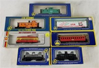 7 Ahm Train Cars Like New