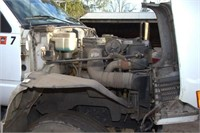 1996 GMC Top Kick with CAT diesel, 18' stake