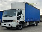 2015 Fuso Fighter 2427 Tautliner / Curtainsider