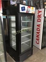 True Single Glass Door Cooler - GEM-26