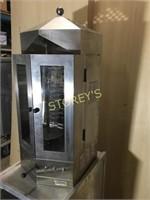 Kronmatic Gyros Vertical Broiler - electric
