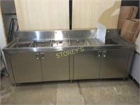 NEW All S/S 5 Compartment Sink / Cabinet