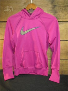 SH2.7 WOMEN's SMALL PURPLE HOODED NIKE THERMA Otros