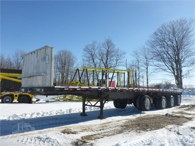 Flatbed Trailers For Sale In Ontario 50 Listings Truckpaper Com Page 1 Of 2