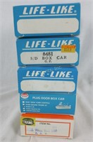 5 Ho Scale Life Like Train Cars Olympia Beer More