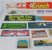 Lot Of Vintage Bumper Stickers & Kellogg's Hat