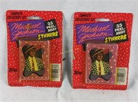 2 New Sets Of Michael Jackson Stickers