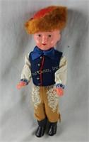 Pair Of Dutch Themed Dolls Boy & Girl