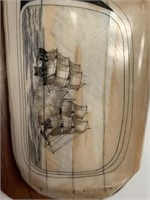 Phenomenal scrimmed 2 man' o 'wars sailing vessels