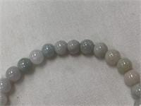 Carved jade bracelet          (M 543)