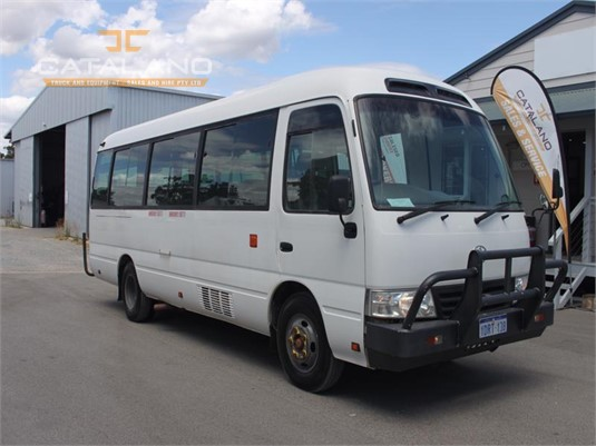 2011 Toyota Coaster 21 Seat Catalano Truck And Equipment Sales And Hire - Buses for Sale