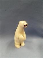 "4"" ivory polar bear by Payenna          (P 1)"