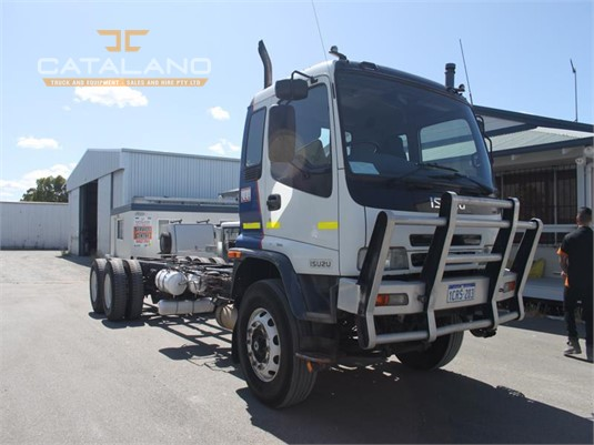 2007 Isuzu FVZ Catalano Truck And Equipment Sales And Hire - Trucks for Sale