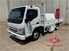2010 Mitsubishi Fuso CANTER 3.5 Crane Truck
