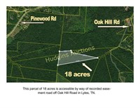 LAND AUCTION - 18 acres - Wooded & Secluded
