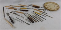 Vintage Clay Modeling Tools