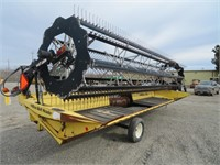 25' Honey Bee SP25R Rice Belt Header with Transfer