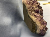 """Large Amethyst stone specimen, approx. 5"""" tall"""