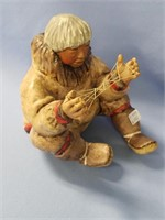 """C. Allen Johnson figurine, """"Isaac"""", signed and dat"""