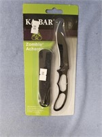 Small fixed bladed knife by K-bar, still in packag
