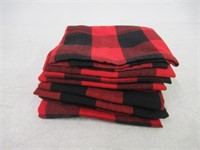 """DII Oversized 20x20"""" Cotton Napkin, Pack of 6, Red"""