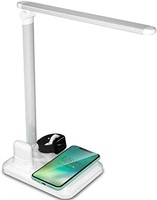 Toyolo 4 in 1 Led Desk Lamp with Wireless Charger