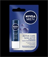 Nivea Men Active Care Caring Lip Balm 4.8g