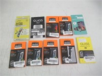 Lot of 10 Various Cell Phone Cases