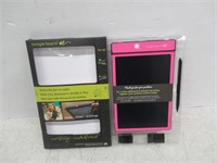 Boogie Board 8.5-Inch LCD Writing Tablet, Pink