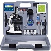 AmScope M30-ABS-KT2-W Beginner Microscope Kit, LED