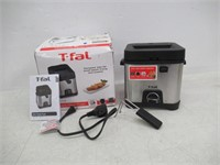 """""""As Is"""" T-fal FF492D Stainless Steel 1.2-Liter Oil"""
