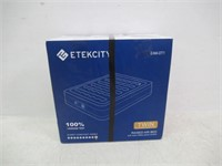 """As Is"" Etekcity Twin Size Blow Up Air Mattress"