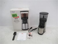 """Used"" OXO Conical Burr Coffee Grinder, Silver,"