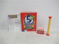 PlayMonster PAT-27428 5 Second Rule (Bilingual)