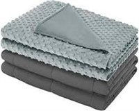 Weighted Blanket with Removable Cover for