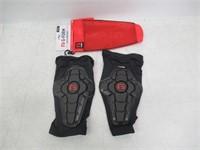 G-Form Pro X2 Knee Pad(1 Pair), Black Logo, Adult