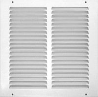 Accord ABRGWH1212 Return Grille with 1/2-Inch Fin