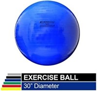 TheraBand Exercise Ball, Stability Ball with 75 cm
