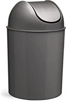 Umbra Mezzo, 2.5 Gallon Trash Can with Lid, Ideal