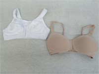 (2) Exquisite Form Fully Women's 36D Front Close