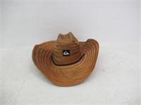 """""""As Is"""" QUIKSILVER Men's Pierside Hat, Dark Brown,"""