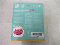 Bumkins Silicone Grip Dish, Suction Plate, Divided