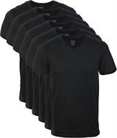 Gildan Men's Medium Crew T-Shirt Multipack, Black