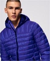Superdry Men's Medium CORE Down Hooded Jacket,