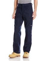 Red Kap Men's 38W x 30L Shop Pant, Navy