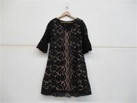 Julian Taylor Women's 14 Lace Sleeve Dress, Ink