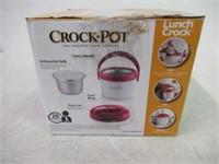 Crock-Pot Lunch Crock Warmer, Pink