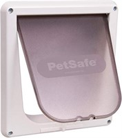 PetSafe Cat Door, White, for Cats Up to 7 kg