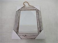 Emaison 30 X 40 cm Wall Decorative Mirror, Rustic