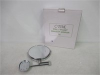Cozzine Wall Mount Mirror, 8-Inch 7x Magnification